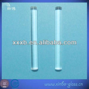 high purity clear fused quartz glass rod