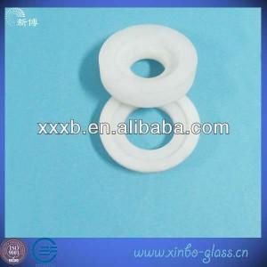high quality clear  quartz ring