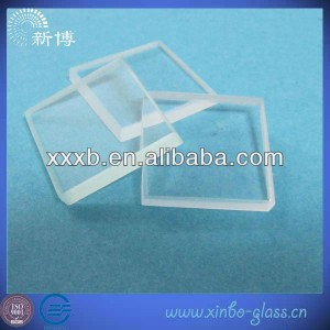 3mm-19mm flat toughened glass
