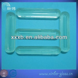 glass for boiler level gauge with two tendons