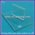 all polished thick Clear Quartz Glass Plate
