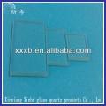 clear heat resistant quartz glass plate