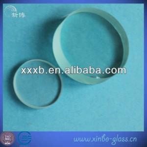clear 3.3 quartz round glass plate