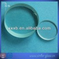 clear 3.3 quartz round toughened glass plate